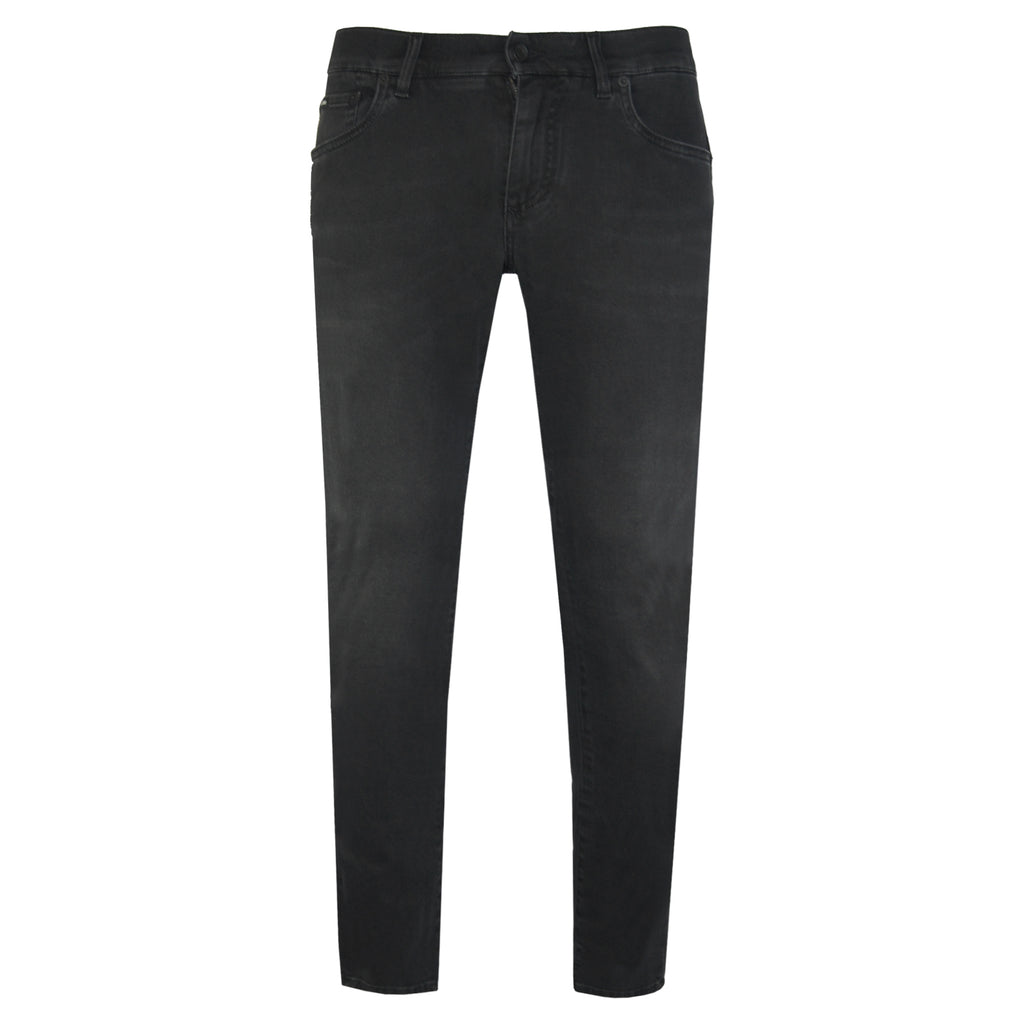 Dolce & Gabbana Slim Fit Jeans in Black-JEANS