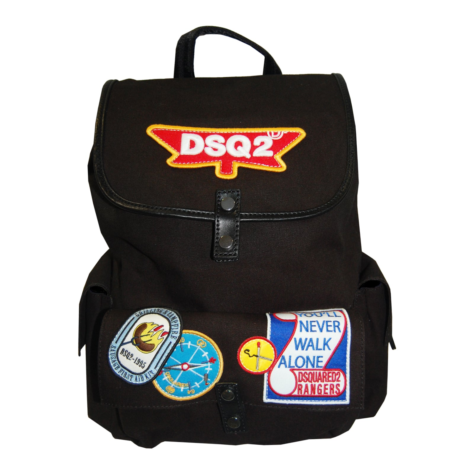 Dsquared2 Rangers Canvas Backpack-bags