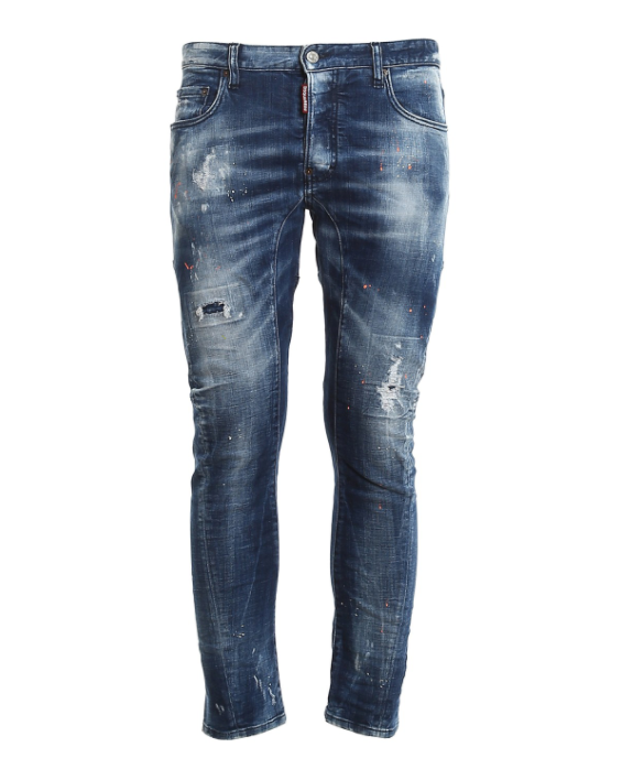Dsquared2 Distressed  Tidy Biker Jeans