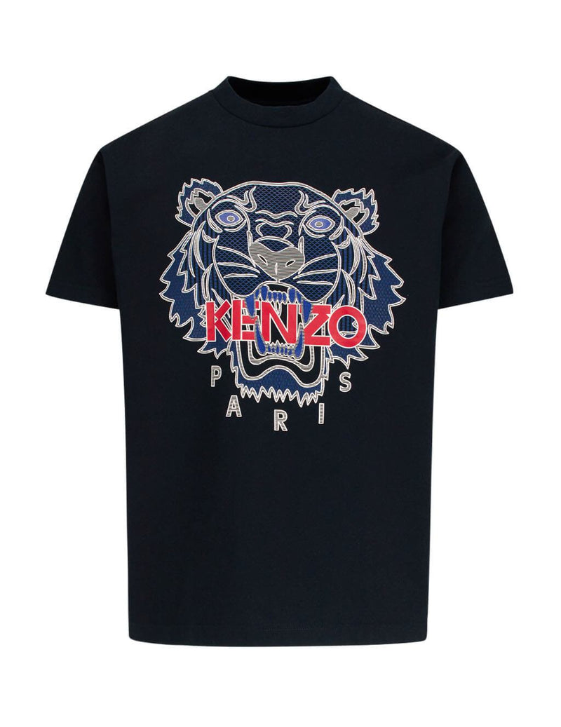 Kenzo Raised Tiger Print T-Shirt