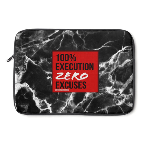 ZERO EXCUSES Laptop Sleeve - BOSSMOVESINC BOUTIQUE