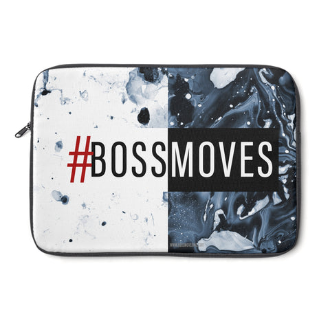 """#BOSSMOVESINC"" Lite+Midnight Laptop Sleeve - BOSSMOVESINC BOUTIQUE"