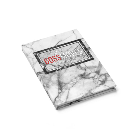 MAKE BOSSMOVES NOTEBOOK [Ruled] - BOSSMOVESINC BOUTIQUE