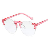 Retroesque Translucent Round Shades - BOSSMOVESINC BOUTIQUE