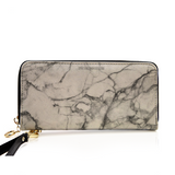 MarbleUs I Zippered Clutch Wallet - BOSSMOVESINC BOUTIQUE