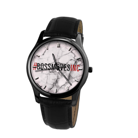 """#BOSSMOVESINC"" Waterproof Quartz Watch II"