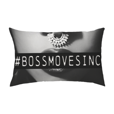 #BOSSMOVESINC Rectangle Pillow/Pillowcase