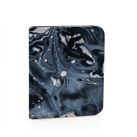 "[UNISEX] ""Midnight Abstract"" Card Wallet - BOSSMOVESINC BOUTIQUE"