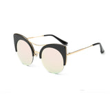 VintLuxe Half Framed Cat Eye Shades