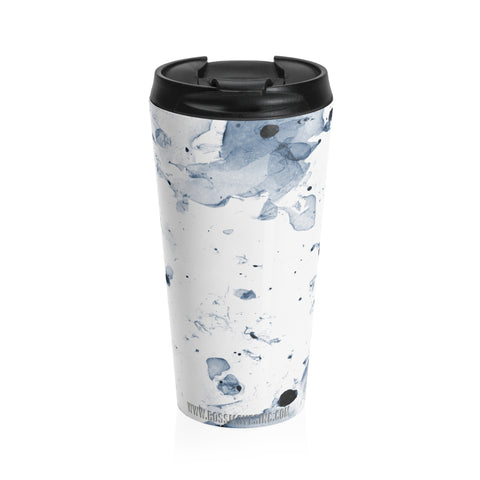 """Lite"" Abstract #BOSSMOVES Travel Cup I - BOSSMOVESINC BOUTIQUE"