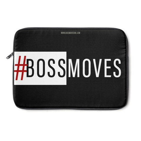 BOSSMOVES BW Laptop Sleeve - BOSSMOVESINC BOUTIQUE