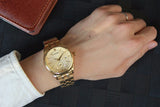 HIS Luxe GildedHour Waterproof Quartz Dress Watch - BOSSMOVESINC BOUTIQUE
