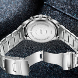 HIS LuxeBoss Waterproof Quartz Watch - BOSSMOVESINC BOUTIQUE