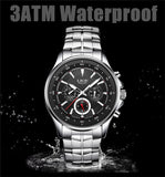 HIS LuxeBoss Waterproof Quartz Watch