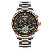 HIS AutoWound Waterproof Tourbillon Watch