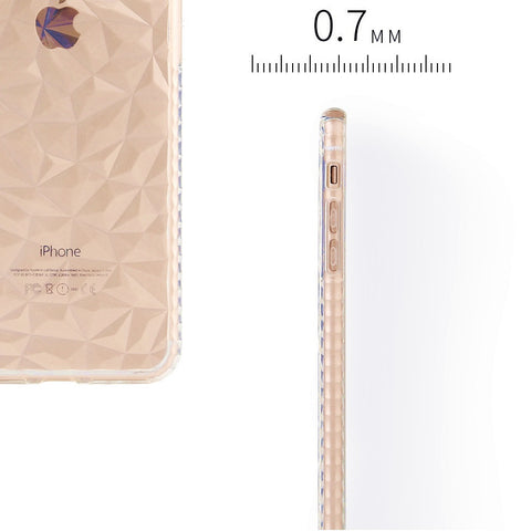 Clear SuperSlim Textured Anti-Shock Cushion iPhone XS Case - BOSSMOVESINC BOUTIQUE