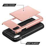 Hybrid iPhone X Wallet Case - BOSSMOVESINC BOUTIQUE