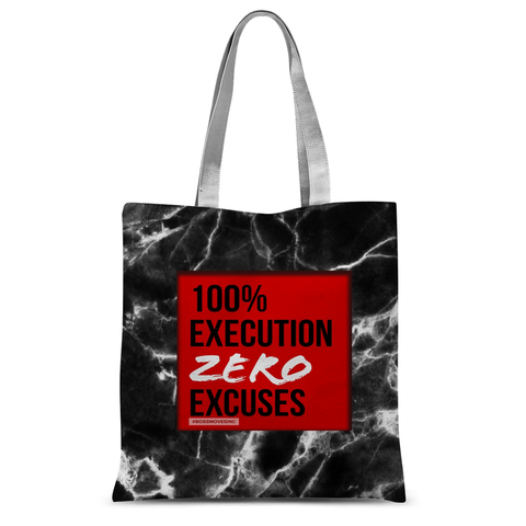 ZERO EXCUSES I Tote Bag - BOSSMOVESINC BOUTIQUE