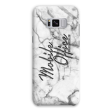 """Mobile Office"" Marble Phone Case - BOSSMOVESINC BOUTIQUE"