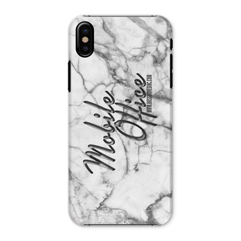 """Mobile Office"" Marble Phone Case"