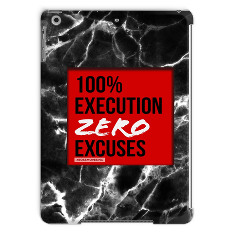 ZERO EXCUSES I Tablet Case - BOSSMOVESINC BOUTIQUE