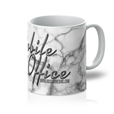 """Mobile Office"" Marble Mug"