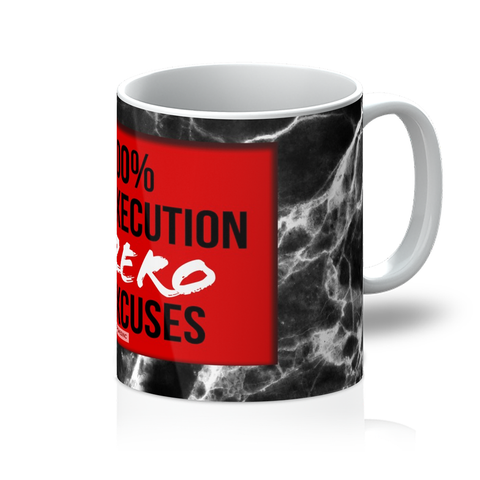 ZERO EXCUSES I Mug - BOSSMOVESINC BOUTIQUE
