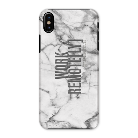 REMOTE[LY] MarbleUs I Phone Case - BOSSMOVESINC BOUTIQUE