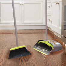 Load image into Gallery viewer, Broom and Dustpan Set Green