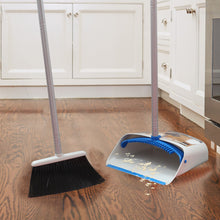 Load image into Gallery viewer, Broom and Dustpan Set Blue