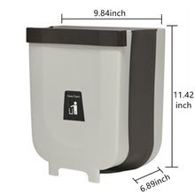 Load image into Gallery viewer, Trash Can 2.3Gallon for Kitchen Bathroom Outdoor - Grey