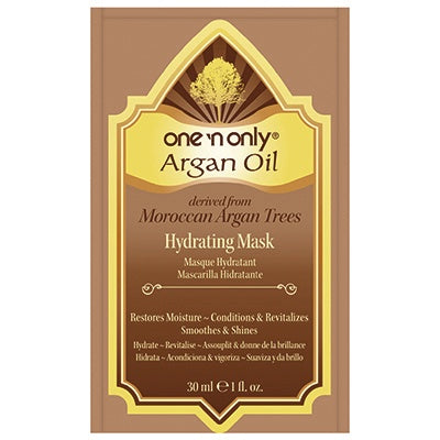 One 'n Only, Argan Oil, Hydrating Mask, 29g/1oz