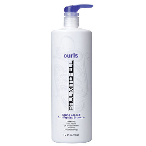 Paul Mitchell Curls Spring Loaded Frizz-Fighting Shampoo, 24oz/710mL