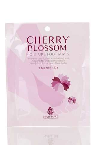 Naisture Cherry Blossom Moisture Foot Mask, 1pc 20g