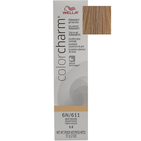 Wella Color Charm Permanent Gel Hair color, Dark Blonde