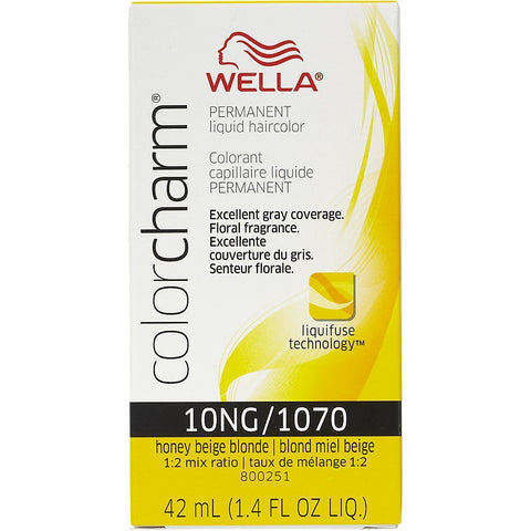 Wella Permanent Liquid Hair color, Honey Beige Blonde, 1.4oz/42mL