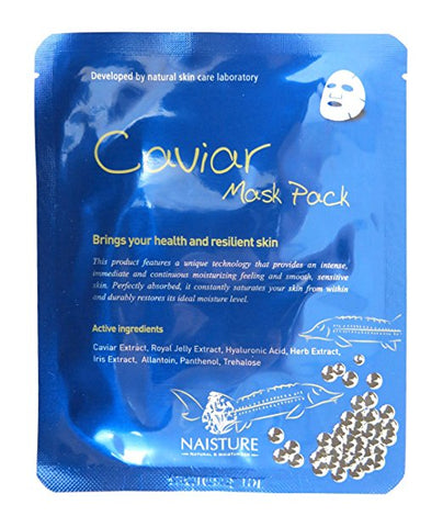 Naisture Caviar Mask Pack, 5pc  22ml