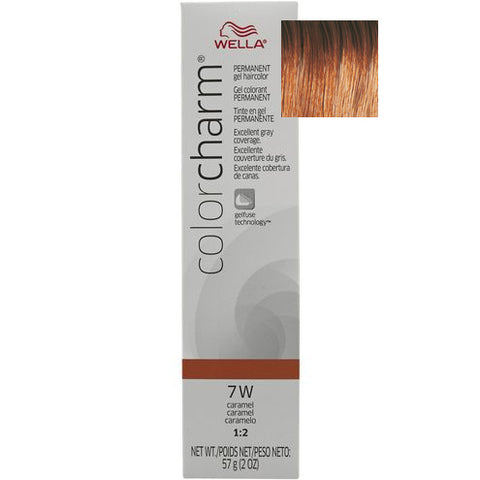 Wella Color Charm Permanent Gel Hair color, Caramel