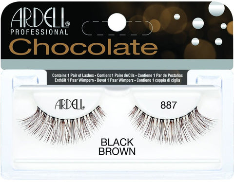 Ardell Professional Chocolate Black Brown #887