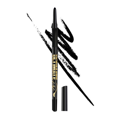 L.A. Girl Ultimate Intense Stay Auto Eyeliner, Ultimate Black, 0.01 oz/0.35g