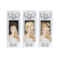 "Avanti Hair Couture, One Piece Clip In 20"" (Light and Mixed Colors)"