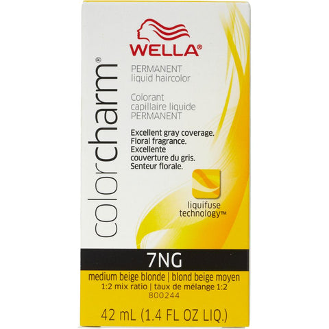 Wella Permanent Liquid Hair color, Medium Beige Blonde, 1.4oz/42mL
