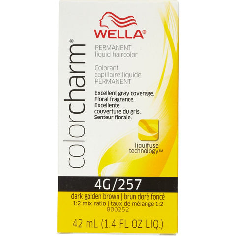 Wella Permanent Liquid Hair color, Dark Golden Brown, 1.4oz/42mL