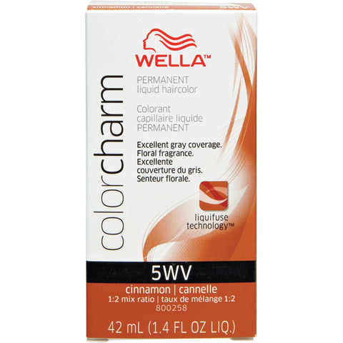 Wella Permanent Liquid Hair color, Cinnamon, 1.4oz/42mL