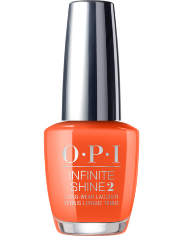 OPI Infinite Shine 2, Santa Monica Beach Peach, 15mL/0.5oz
