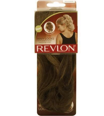 Revlon, Wavy Locks, Light Brown