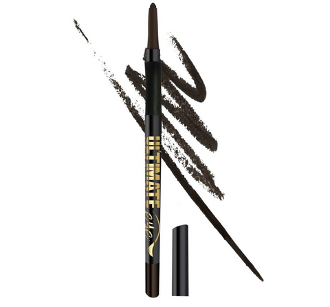 L.A. Girl Ultimate Intense Stay Auto Eyeliner, Deepest Brown, 0.01 oz/0.35g