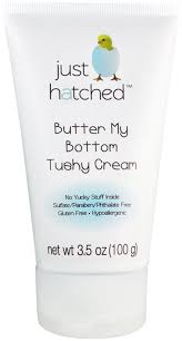 Just Hatched Butter My Bottom Tushy Cream, 3.5 Ounce
