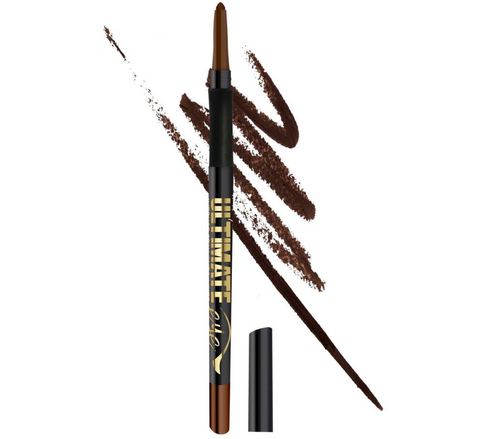 L.A. Girl Ultimate Intense Stay Auto Eyeliner, Lasting Brown, 0.01 oz/0.35g