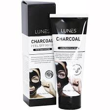 LUNES CHARCOAL PEEL OFF MASK Skin Purification 150ml/5.07fl.oz.